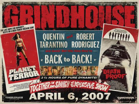 Grindhouse (2007) 720p BluRay x264 AAC ESub English 1.50GB Download | Watch Online [GDrive]